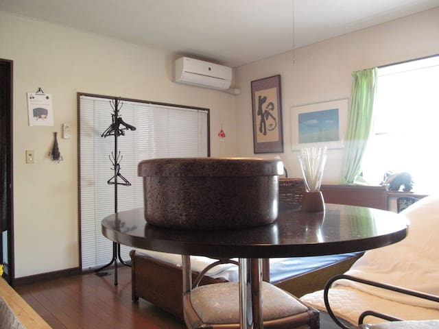 A warm and friendly detached house in Hirosaki