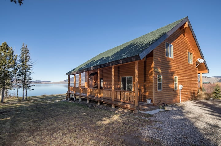 KABINO: Luxury Log Cabin! Easy Access and Huge Views! On Henrys Lake - Free WiFi