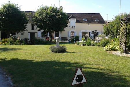 """""""croisee des rivieres"""" in Burgundy - Bonnard"""