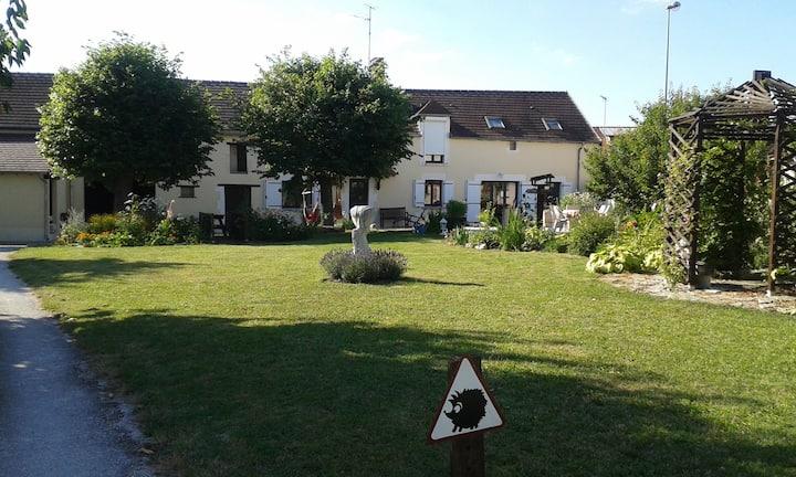 """croisee des rivieres"" in Burgundy"