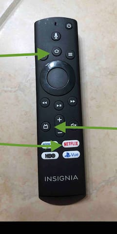 """Use the top button to access all apps. We provide Netflix and Hulu. Use the """"ORCHIDS"""" Profile. The middle button gives you access to the antenna local channels. And the Netflix button takes you directly to the Netflix app."""