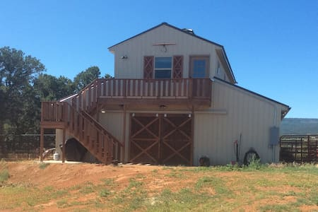 Ute Valley Ranch over barn apartment