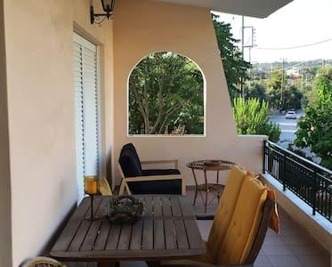 Mountain view Villa with Garden - Porto Rafti