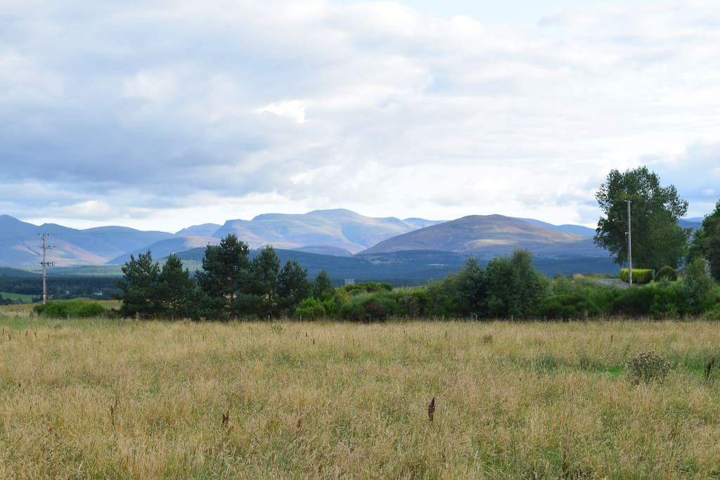 Views to the Cairngorms