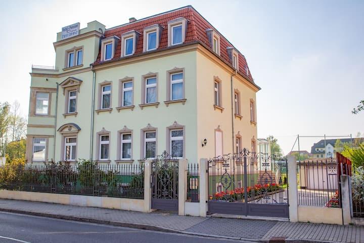 Jugendstill Villa nähe Zentrum und Großengarten