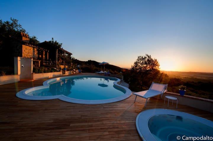 Casale Campodalto   Pool & Jacuzzi
