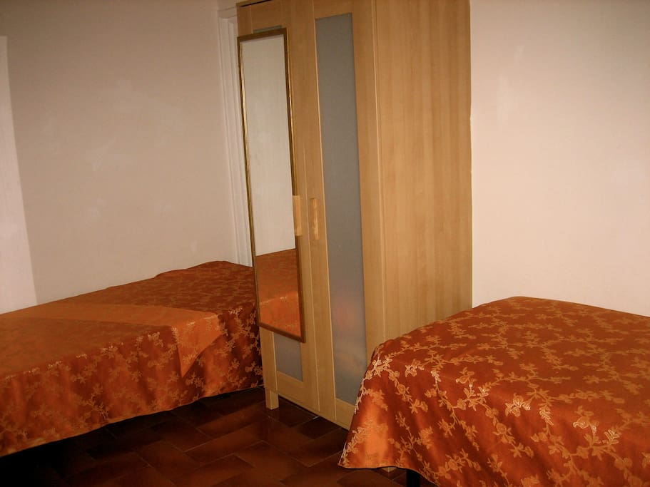In Florence tourist hostel