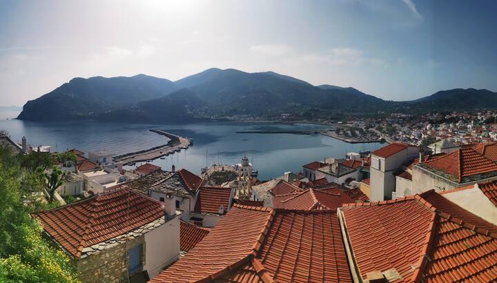 """Kastro House, Skopelos """"Mamma Mia Island"""""""