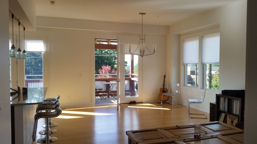 Large 2 bed loft in W. Avl, bring the whole family - Asheville - Appartement en résidence