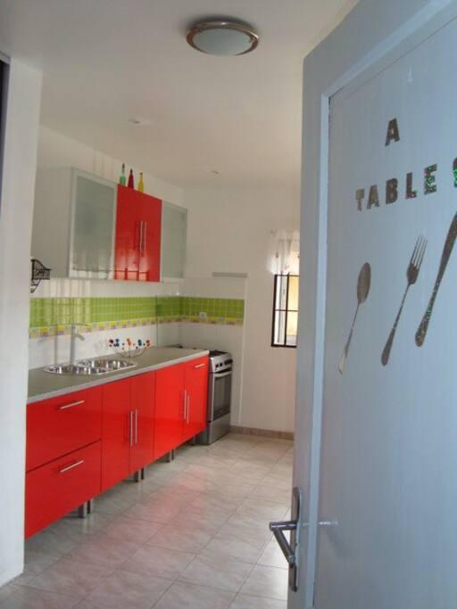 Cuisine appartement F4 ( Dahlia )