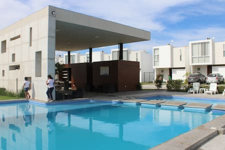 New house in Nuevo Vallarta! 3BDs, WiFi, AC & pool