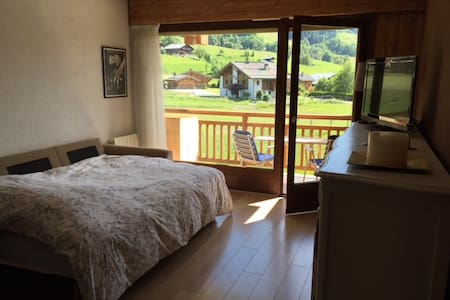 Renovated studio on the slopes - Praz-sur-Arly - Condomínio