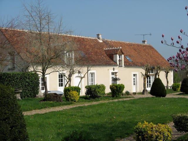 Manoir de la Voûte Cottage Montpoupon - Pouillé - Haus