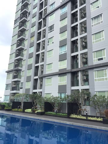 Next to BTS with chic & comfy style - Bangkok - Wohnung