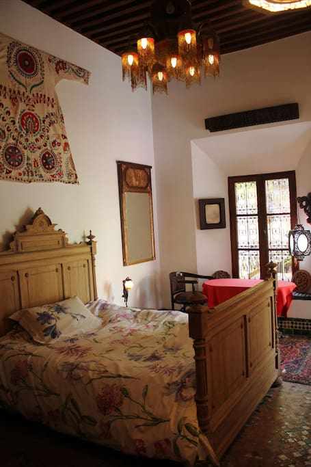 A Colonial House With A Lush Garden Bed Breakfasts For Rent In Fes Fes Boulemane Morocco