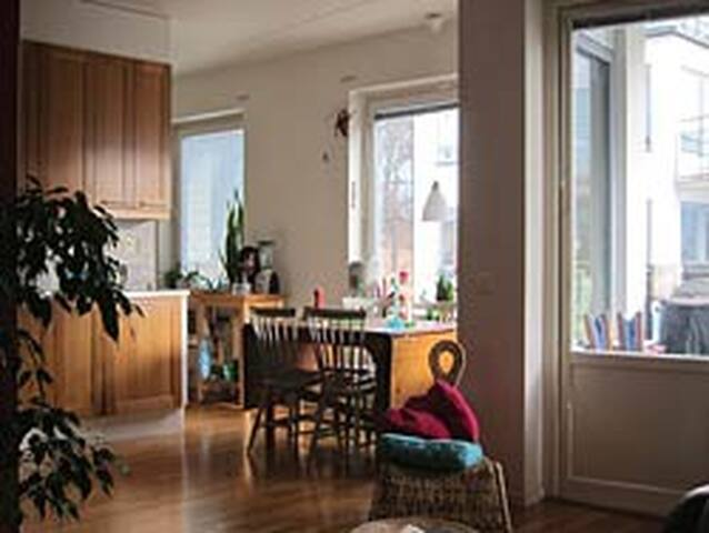 Spacious flat near Water - Stockholm - Byt