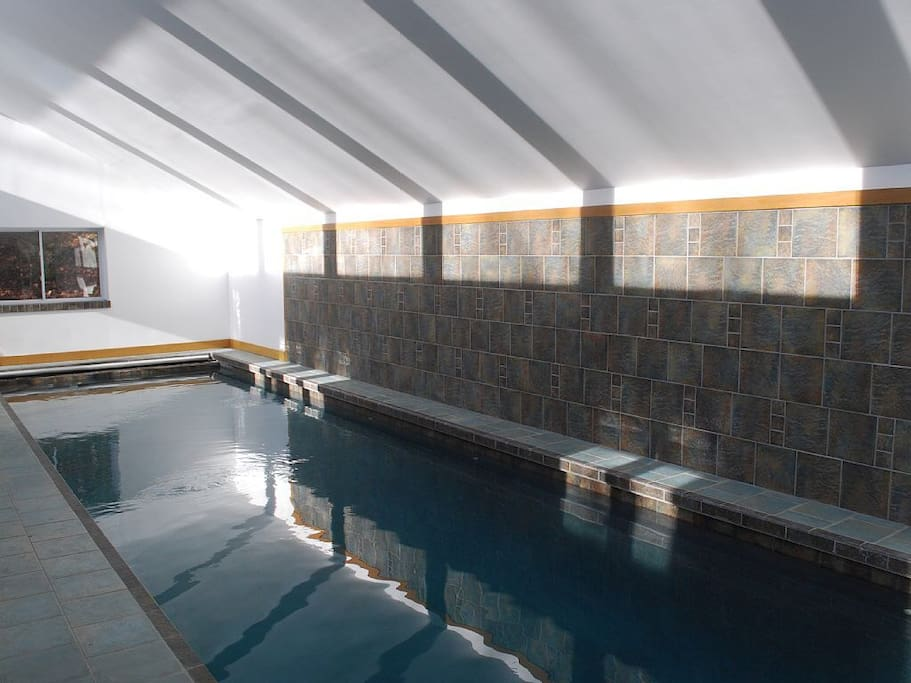 Indoor Bromine Pool