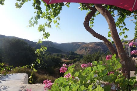 Magical Hidden Cretan Retreat!! Monopari. - Monopari - Huis