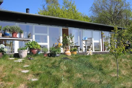 Holiday home with panoramic view - Knebel