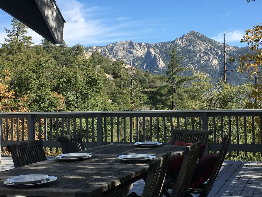 Dine with Views of Lily Rock