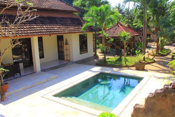 Villa Tari Lovina with Beautiful Tropical Garden