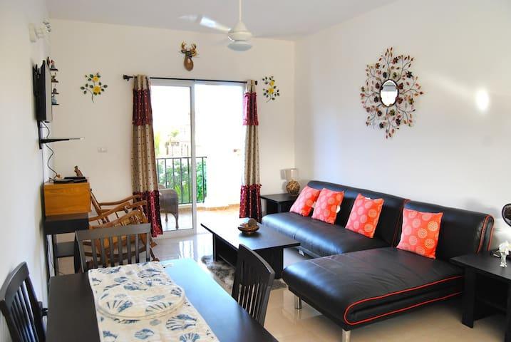 206 Quiet Bright AC Full Equip - Apartamento