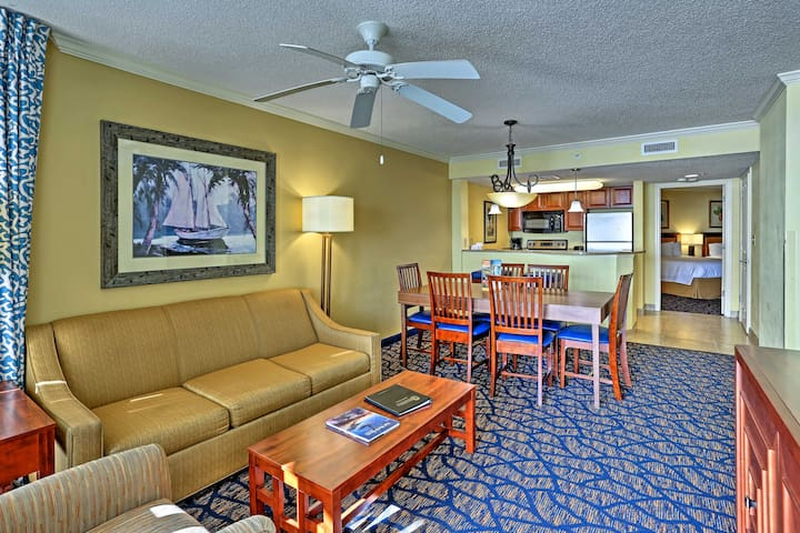 The Dunes Village Resort condo sits within 5 miles of main attractions.