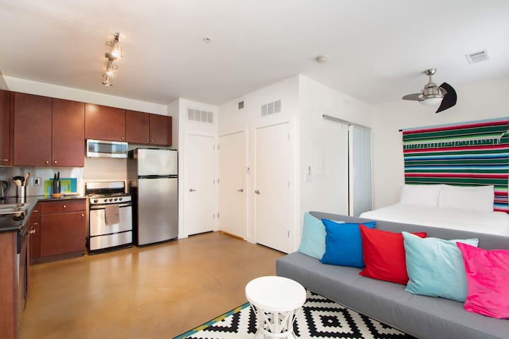 Central One Bedroom Apt on Lady Bird Lake
