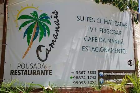 Pousada e Restaurante Camanais - Mata de São João