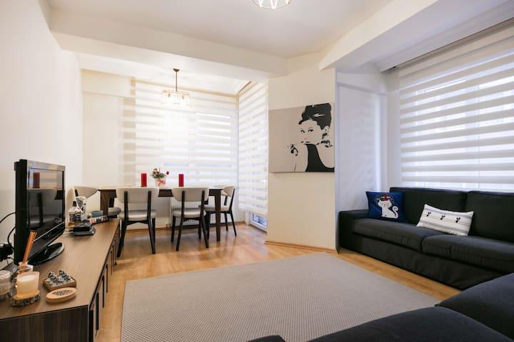 Nice Flat  in Central Location - Kağıthane - Apartamento