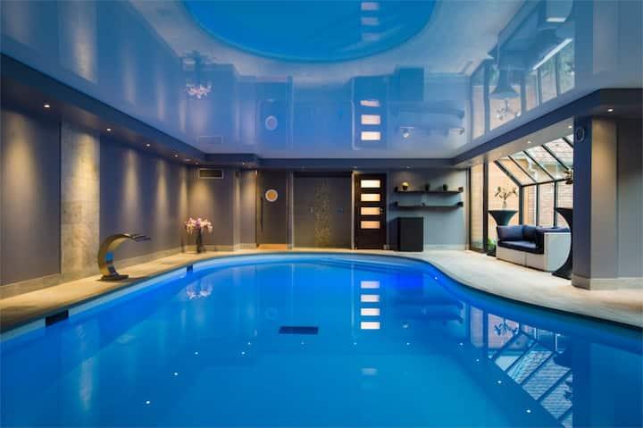 Appartement avec accès piscine