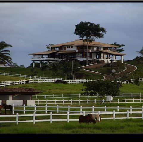 Casa de campo luxuosa com vista maravilhosa!