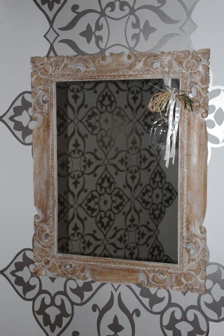 Miroir de l'entrée