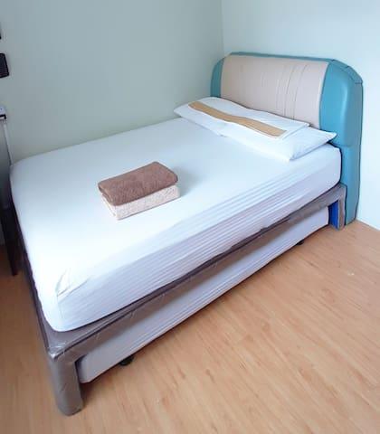 2 guest = Sleeping arrangement