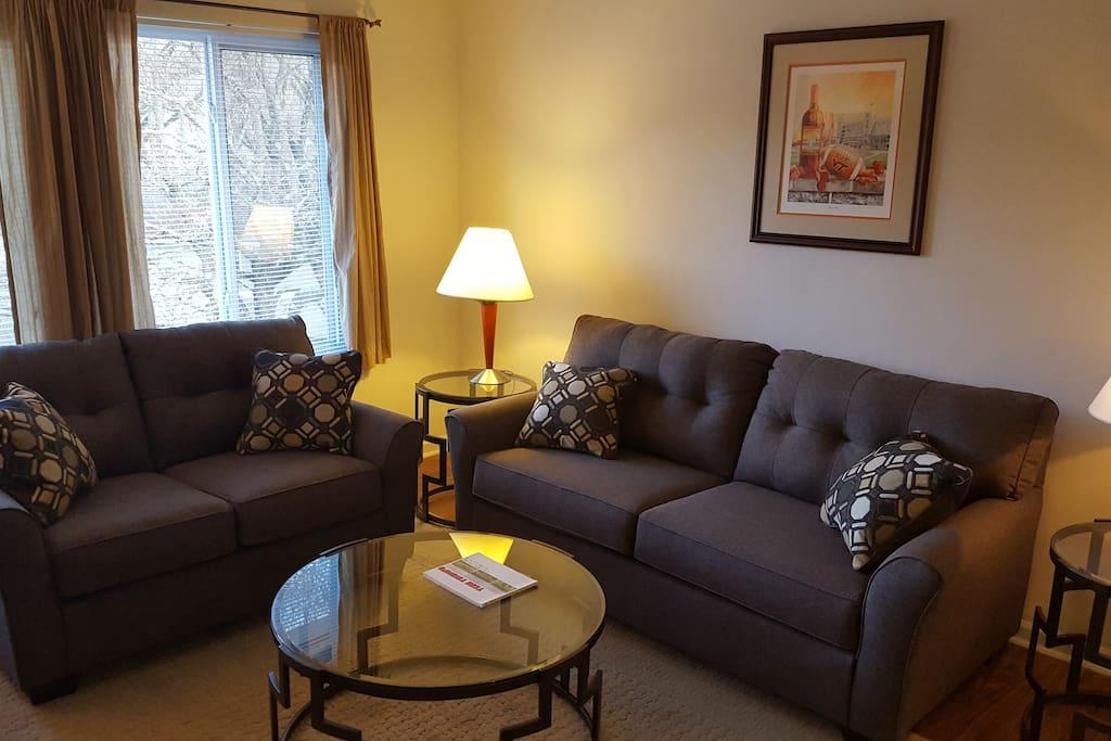 Hokie home 3 bedroom condo with all you need One bedroom apartments blacksburg va