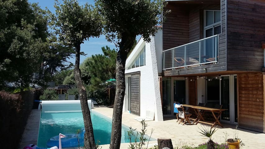 Villa vue sur mer et piscine, 6 adultes maximum