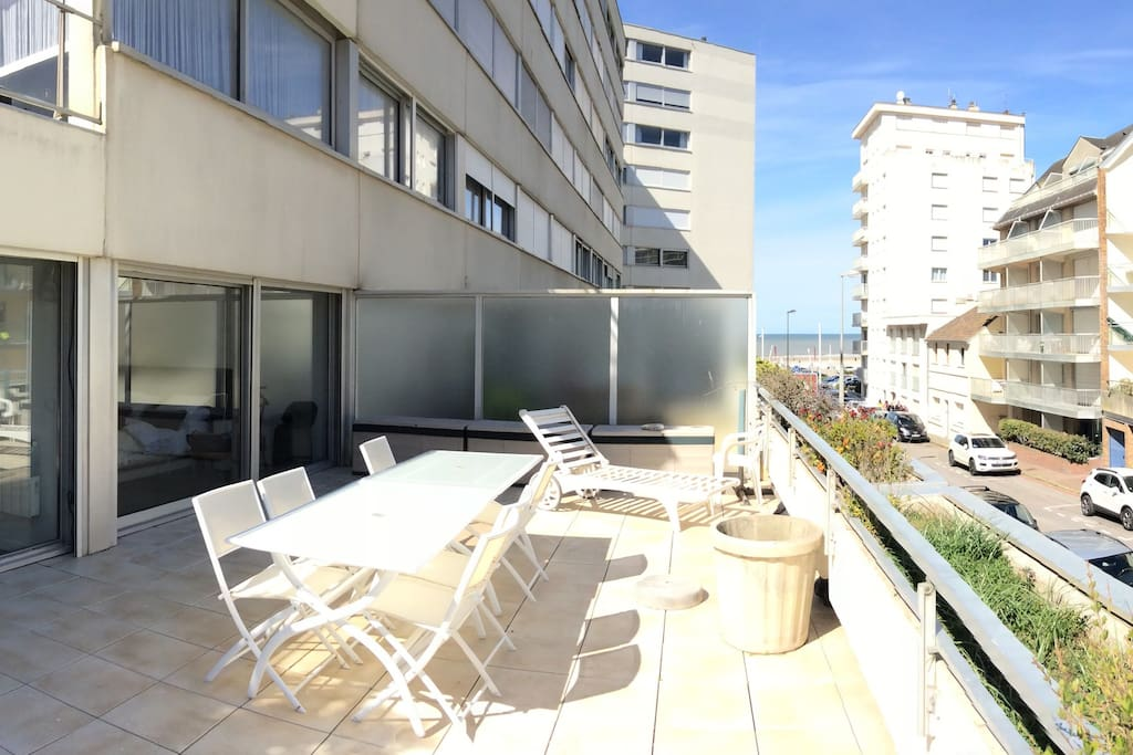 Appartement terrasse vue mer centre ville appartements Terrasse vue paris