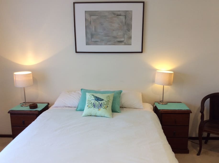 Beautiful bedrooms for a wonderful night's sleep - master bedroom with ensuite