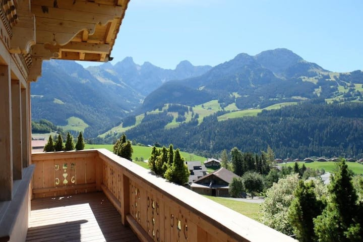 Luxury Chalet with Spa and stunning views !