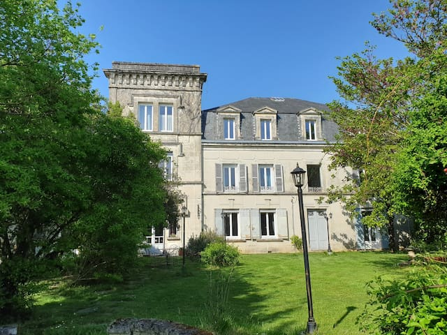 Castle near COGNAC
