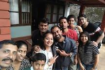 Raj and Sadhna n friends.. Friends Forever
