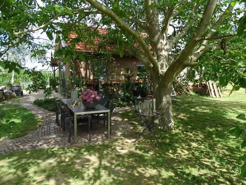 Roer, huisje aan de Maas, vlak bij Den Bosch
