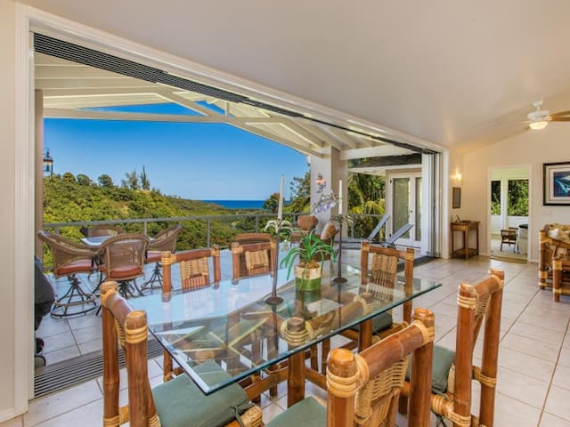 North shore home with Ocean Views! - Honu Lani
