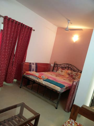 Fully Furnished 1 BHK Apartment in Calangute