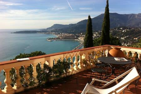 Romantic mediterranean retreat - Ventimiglia - Lejlighed