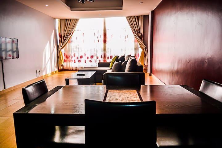 Spacious affordable apartment in Kampala.
