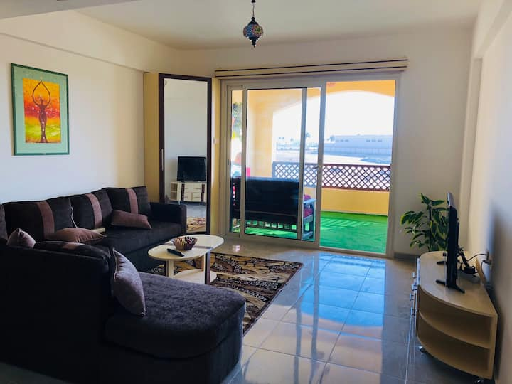 Flat in Port Ghalib Marina