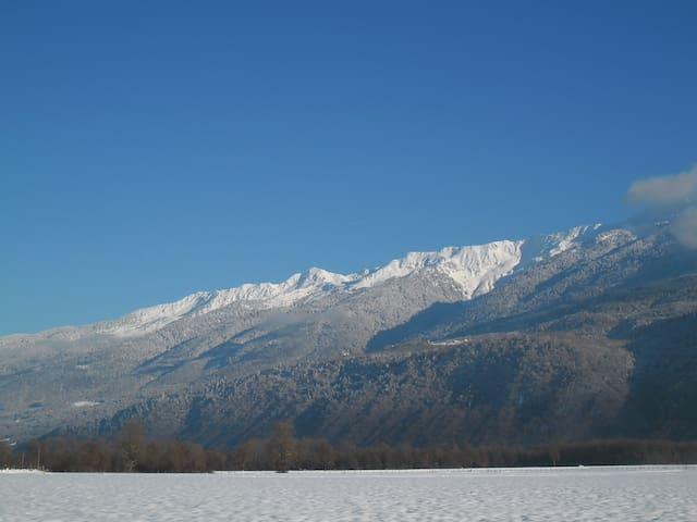 Camera vicino a località alpine - Gresy sur Isere - Casa