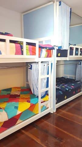 2nd (wood) floor bedroom