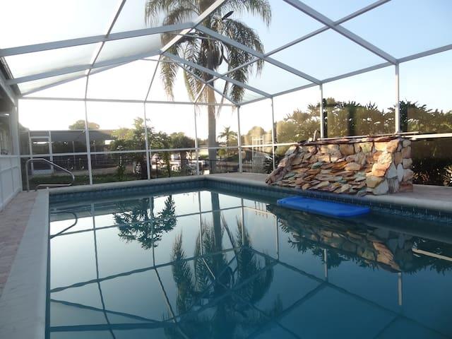 Waterfront villa for rent Florida - Englewood - Villa